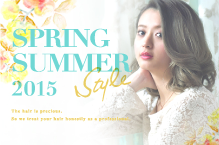 SPRING SUMMER STYLE 2015